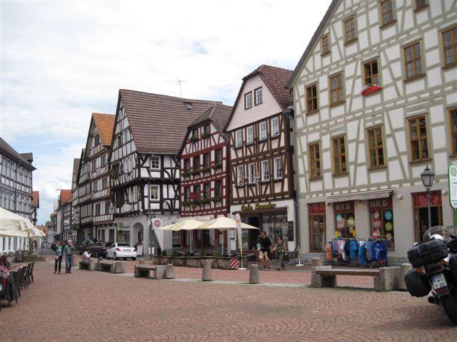 Grünberg - Marktplatz